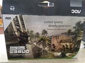 "AOC 24"" MONITOR 144HZ 1MS G-SYNC 3D VISION G2460PG"